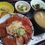 ふた葉 - 料理写真:マグロ丼