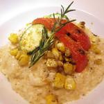 フレイムス - 真鯛と焼き夏野菜のマスカルポーネリゾット