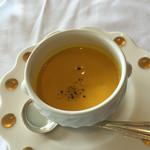 マンジャーレ - 南瓜の冷製スープ