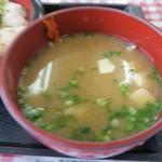ふくの河久 - 河豚汁380円
