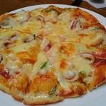 すばる - シーフードピザ