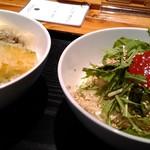 Isogamifuraibaru - 豆乳蕎麦と天丼