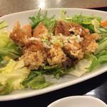 中華料理 敦煌 らーめんすき - 油淋鶏