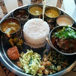 Spice&Dining KALA - '16.8.15 ベジタリアンミールス+マトンコランブ