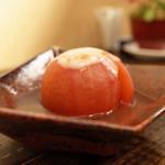 橙 - トマト