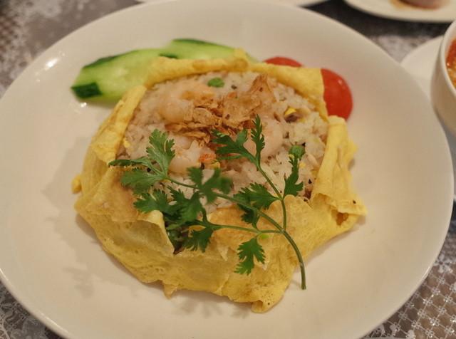 サハラ アジアンレストラン - ランチセットのチャーハン(600円・外税)