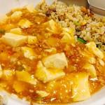 中国料理 蘭州 - 麻婆チャーハン