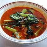 銀座 鳳鳴春 - 青菜坦々麺