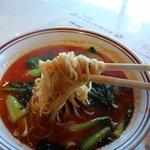 銀座 鳳鳴春 - ストレート細麺