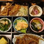 5485755 - 「日替わりランチ」 松花堂弁当の部