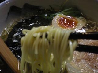 AFURI 恵比寿 - 細麺のストレート
