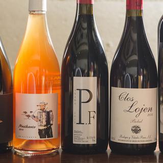 スペイン料理を楽しむために厳選したスペインワイン。