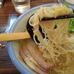 54852790 - 冷やし柚子塩麺の麺あげ