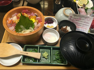 沼津かねはち - 特選海鮮ひつまぶし2200円