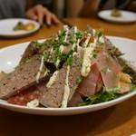 アヒル食堂 - パリのお肉屋さんのサラダ