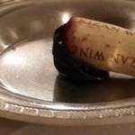Restaurant Colore - 赤ワインのコルク