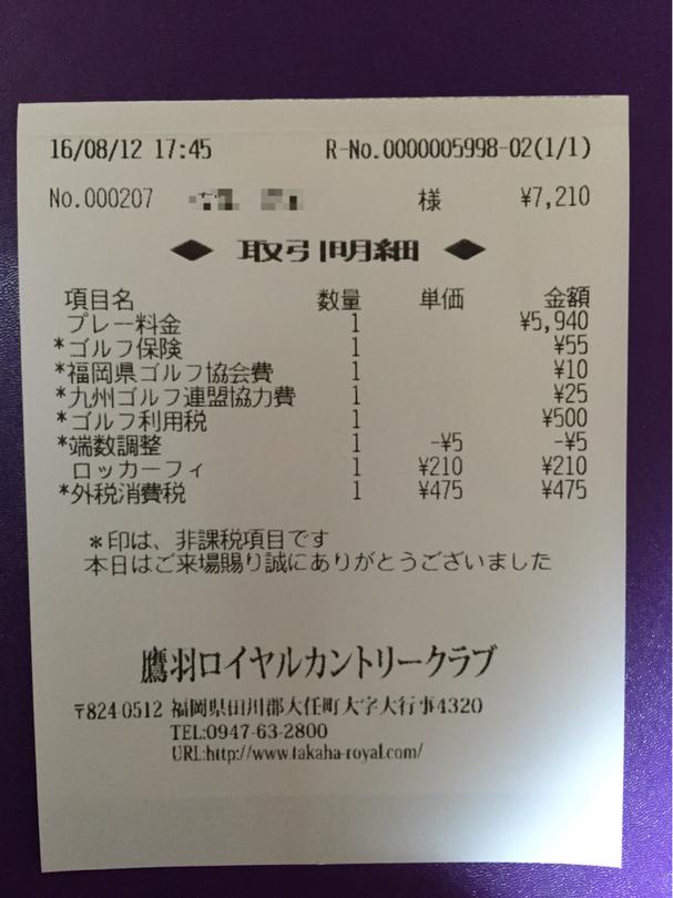 鷹羽ロイヤルカントリークラブ