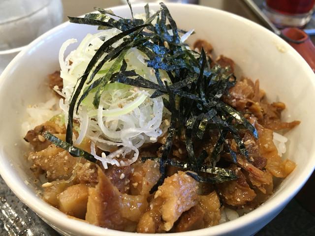 麺処田ぶし 三島店 - ねぎ豚飯