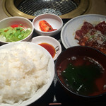 狐狸庵家庭料理 ナルゲ - ナルゲ定食900円