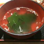 狐狸庵家庭料理 ナルゲ - ランチスープ
