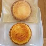 シュ シュ アンジュ - 料理写真:アンジュちゃんのチーズタルト@260円