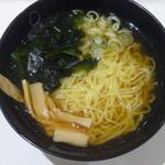 くっちぃーな - 正油ラーメン(大盛)