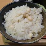 中央食堂・さんぼう - 麦大豆御飯