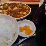 54863322 - 麻婆豆腐ランチセット 若干コスパが