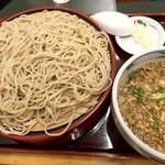 桂庵 - たぬきせいろ650円