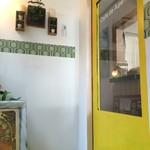 カフェ デ アゲンダ - 2F店内入り口のドア