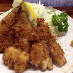 54865558 - 魚河岸定食  フライ