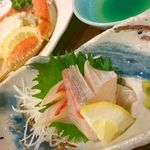 東山 - お刺身が美味しかったです。