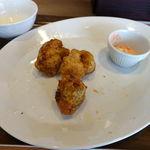 鶏×バル HINAMARU - 明太マヨからあげコンボ 700円
