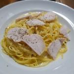 イタリア料理 ロカレ - 鶏のカルボナーラ