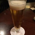 桃煌 - 生ビールで乾杯!