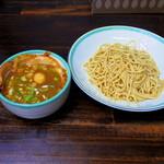 らー麺 つるや - 料理写真:看板メニュー「つるやつけ麺」
