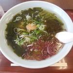 浜茶や食堂 - 磯物ラーメン ¥600-