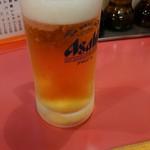 きんた - グラス生ビール