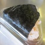 富士見そば - シャケのほぐし身を混ぜ込んであります。
