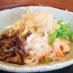 月見里 - H28/7 五目冷やし素麺
