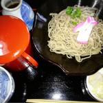 そばの駅 楢葉九面 - 本わさびおろし蕎麦