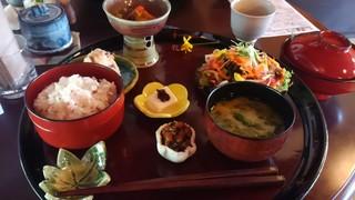 糀と野菜のお料理 花 - 花盆ミニコース 1850円(ドリンク付)