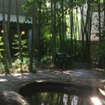 54876796 - 竹林の中庭