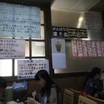 さわき - 昭和な店内