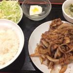 54878604 - 生姜焼肉 680円