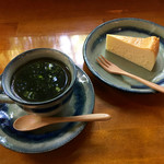珈琲まめ坊 - 広瀬川ブレンド ♪ 好きな陶器で頂きます