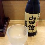 元禄寿司 - 冷酒。<2016/8/16>