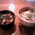 鰻・蒲焼 玄 - 博多のゴボウ天うどん+うな丼(1000円)