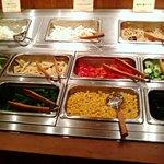 イタリアン バイキング モルトモルト - サラダコーナーです。お野菜もいっぱい食べれるので嬉しい♪