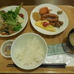 ホテル ルートイン - 朝食 相棒